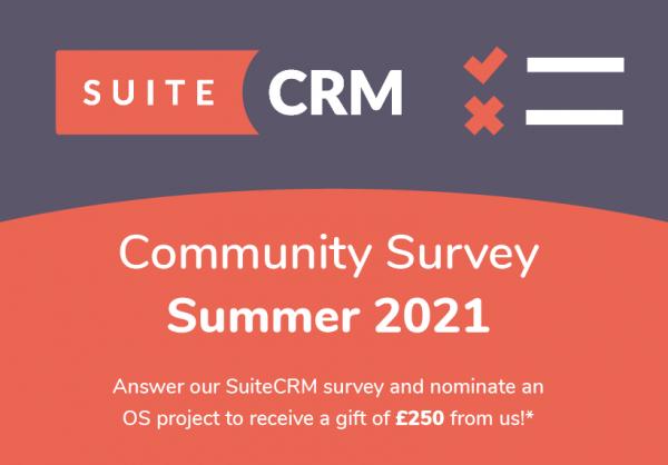SuiteCRM Community Survey Summer 2021